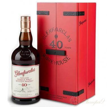 Glenfarclas 40 Year Single Highland Malt Scotch Whisky