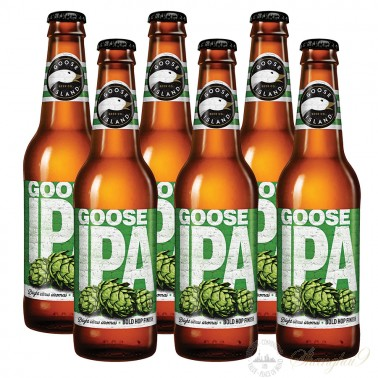 6 bottles of Goose Island IPA