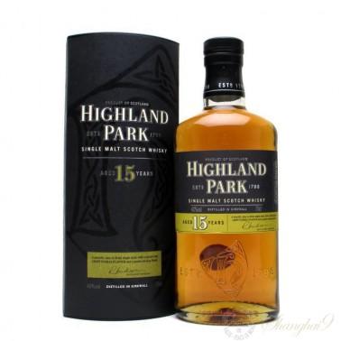 Highland Park 15 Year Old Single Isle of Orkney Malt Scotch Whisky