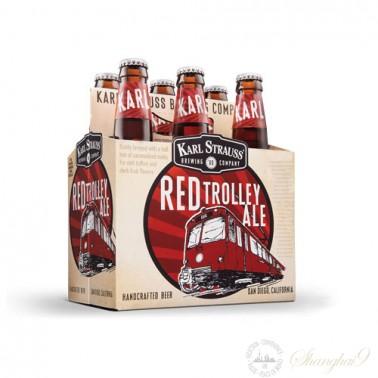 6 Bottles of Karl Strauss Red Trolley Ale