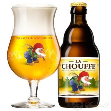 One case of La Chouffe + One La Chouffe Glass