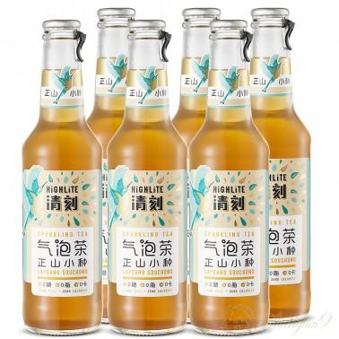 6 bottles of Highlite Sparkling Lapsang Souchong Tea