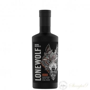 LoneWolf Gunpowder Proof Gin 57% ABV Limited Edition