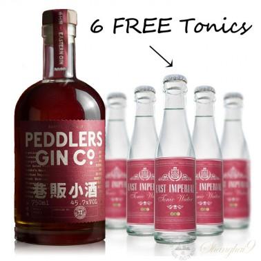 Peddlers Barrel Aged Gin (w/6 FREE East Imperial Burma Tonic)