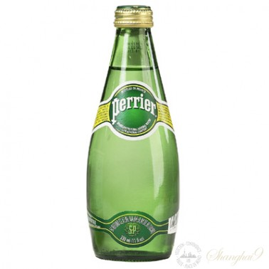 Perrier Sparkling Water  (330ml x 24 Glass Bottles)