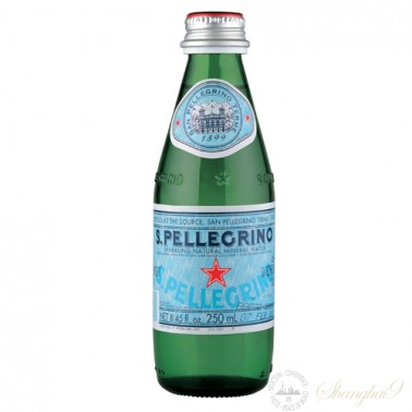 San Pellegrino Sparkling Water (250ml x 24 Glass Bottles)