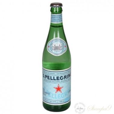 San Pellegrino Sparkling Water (500ml x 24 Glass Bottles)