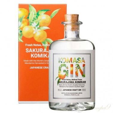 Komasa Sakurajima Komikan (Mandarin) Gin