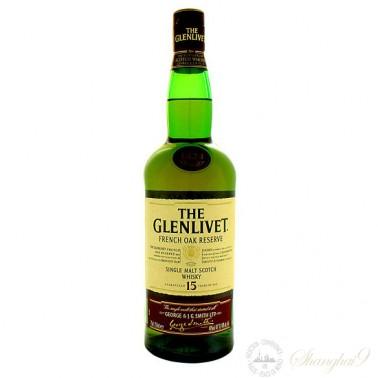 The Glenlivet 15 Year Old French Oak Reserve Single Speyside Malt Scotch Whisky