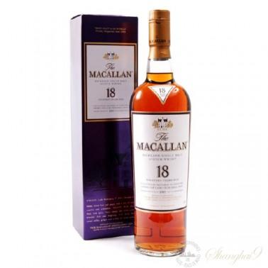 The Macallan 18 Year Old Speyside Single Malt Scotch Whisky