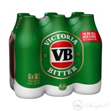 6 bottles of VB (Victoria Bitter)