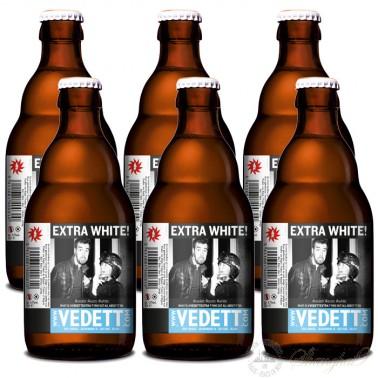 6 bottles of Vedett Extra White