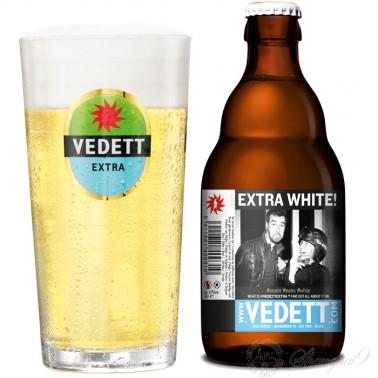 One case of Vedett Extra White + One Vedett Glass