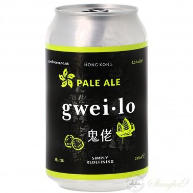 鬼佬淡色艾尔啤酒(12听)