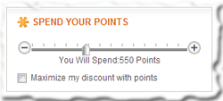 Spend Your Points